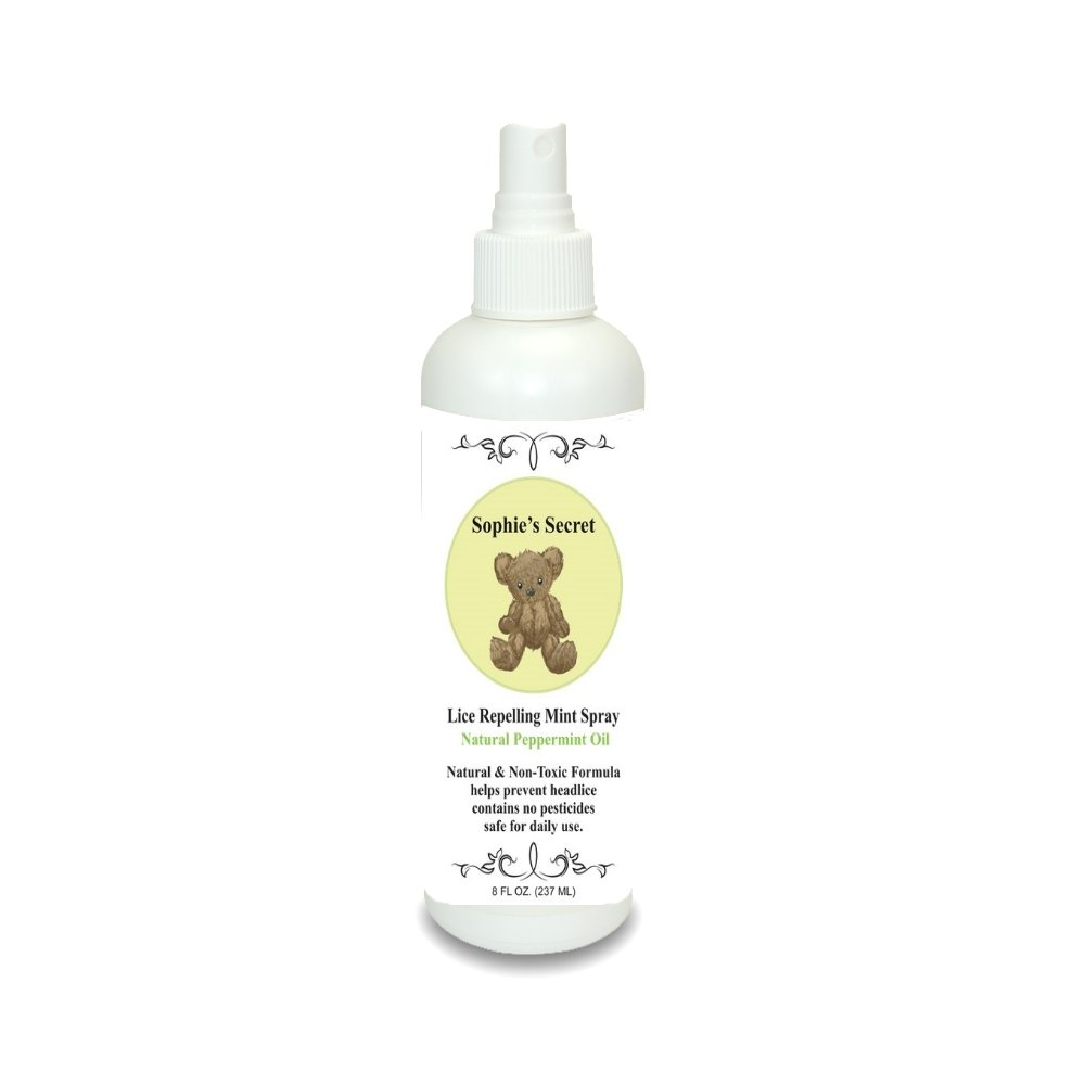 Sophie's Secret Lice Repelling Spray 8oz, Natural, Non-toxic