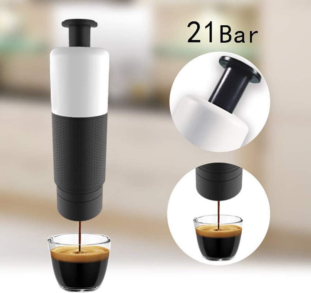 LIGHT Máquina de café Espresso portátil, Mini cafetera,para Acampar, Viajes/Oficina,Powderversion: Amazon.es: Deportes y aire libre