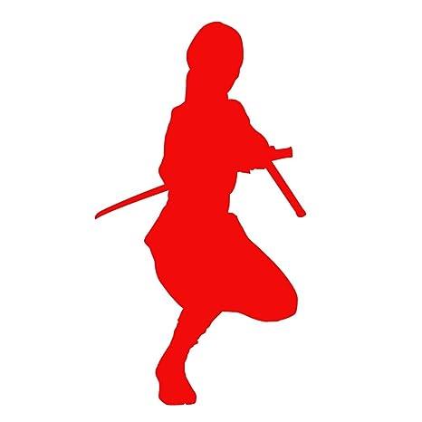 Amazon.com: Auto vynamics – Vinilo Ninja Warrior silueta ...