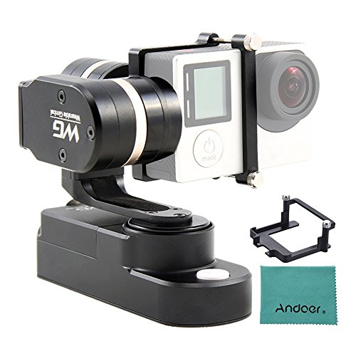 Feiyuキット3軸 ジンバル ウェアラブル スタビライザー FeiyuTech カメラマウントキット&クリニングクロス付き GoPro Hero5アクションカメラ用 GoPro Hero 3 3+ 4 & 同様形状 アクションカメラ用