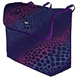 Horse Blanket Gear Storage Bag for Front of Stall in WILD...