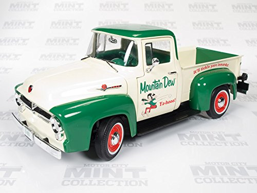 AW211 1956 Ford F100 Mountain Dew Pick up Truck (Pickup F100 Ford 56)