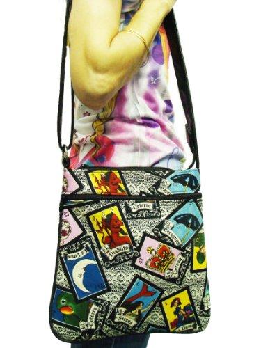 Purse CSOP1542 US Shoulder FASHION Over HANDMADE Fabric Alexander Handbag LOTERIA Body Cotton Henry Latino Pattern Style Cross Bag wnW71fwqBT