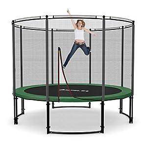 Ampel 24 Deluxe Trampolin 305 cm Komplettset mit Netz | Gartentrampolin mit...