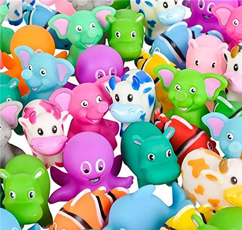Mega Rubber Animal | 72 Pc Assortment