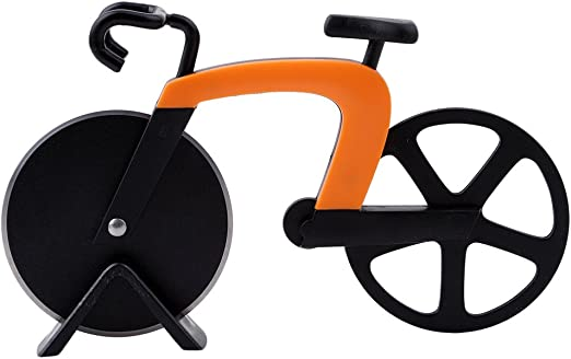 Compra honel marca nueva bicicleta cortador de Pizza doble ...