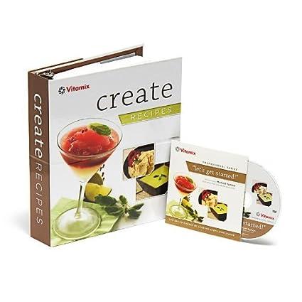 Amazon vitamix create recipe book with chef michael symon vitamix quotcreatequot recipe book with chef michael symon instructional dvd for cia series forumfinder Choice Image