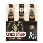 Cruzcampo Gran Reserva Cerveza - Pack de 6 Botellas x 330 ml - Total: 1.98 L
