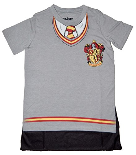 [Harry Potter Hogwarts House Gryffindor Costume Youth Cape T-shirt (S)] (Hogwarts Costumes For Girls)