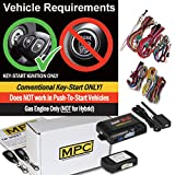 MPC Complete 1-Button Remote Start Kit for 2012-2015 Honda Civic - Includes Bypass - Firmware Preloaded