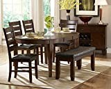 Oval Dining Table of Ameillia Collection by Homelegance