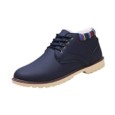 new product a666f 97188 Deylaying Herren Gentlemen Warme Schuhe Winter Schneestiefel ...