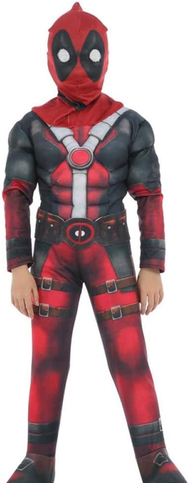 BLOIBFS Disfraces Superheroes Ninos Deadpool De Traje Disfraces Y ...