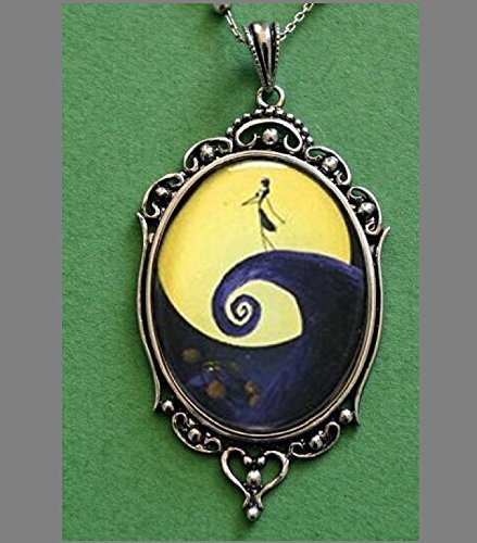 Skellington Nightmare Before Christmas Necklace