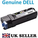 Genuine Original DELL 2150 2155 2150cn 2155cn 2155cdn YELLOW Laser Toner Cartridge , 1200 Page Capacity , Dell P/N : 12T59