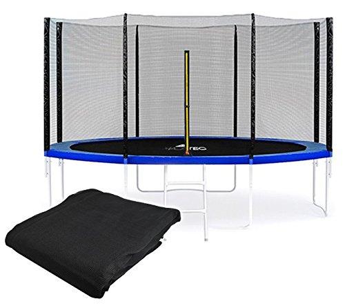 Sicherheitsnetz für Trampoline Fangnetz Ersatznetz Außennetz183cm - 427 cm #2220, Größe:366 cm