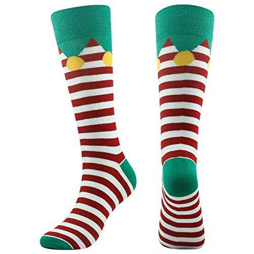 Funny Socks, Gmall Unisex Novelty Christmas New Year Party Colorful Dress Crew Socks