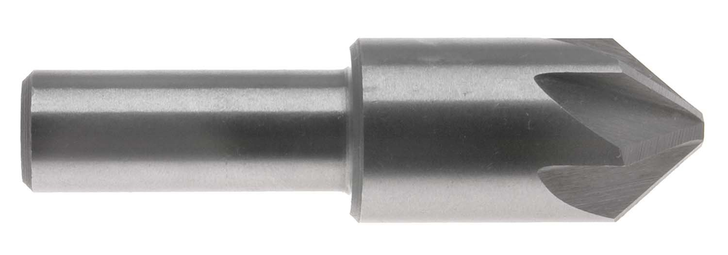 "3//8/"" 82degree 6 FLUTE HIGH SPEED STEEL CHATTERLESS COUNTERSINK"