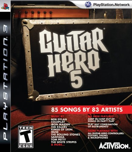Guitar Hero 5 Stand Alone Software - Playstation 3 (Game only) by Activision