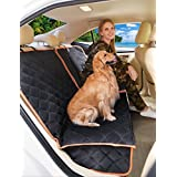 Dog Seat Cover, ecolover 2 in 1 Pet Seat Cover For Back Or Front Seat,Waterproof and Hammock For Cars,Trucks&Suvs
