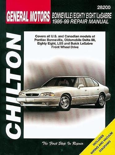 chilton s general motors buick oldsmobile pontiac fwd 1985 05 rh amazon com 1999 Pontiac Bonneville 2005 Pontiac Bonneville