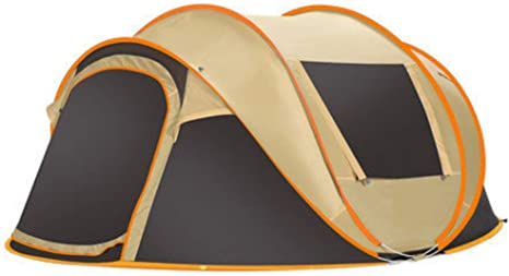 5-8 Person 280*200*120cm Ultralight Camping Waterproof Windproof Automatic Tents