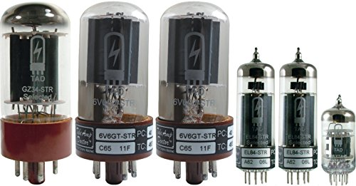 Tube Complement for Divided By 13 JTR 9/15, Tube Amp Doctor brand tubes