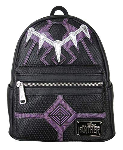 Loungefly Black Panther Faux Leather Mini Backpack Standard
