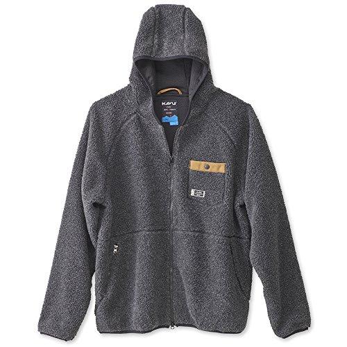 KAVU Men's Revelstoke Athletic Sweaters, Small, Black Smoke ()