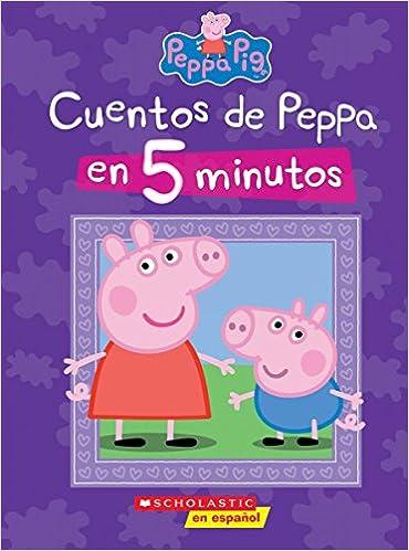 Amazon.com: Peppa Pig: Cuentos de Peppa en 5 minutos (5 ...