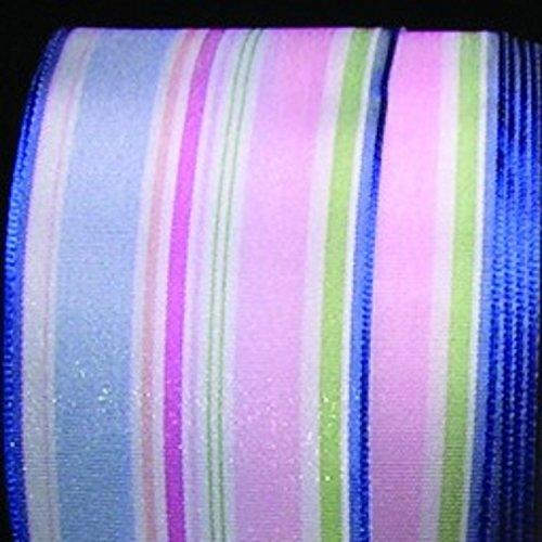 Blue And Pink Taffeta