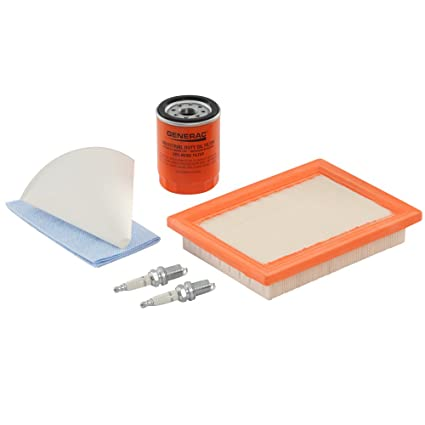 amazon com generac 6483 scheduled maintenance kit for home standby