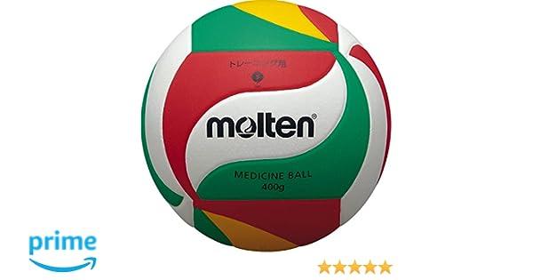 VM9000 - Balón de Voleibol medicinal. Blanco, verde y rojo, Talla 5: Amazon.es: Deportes y aire libre