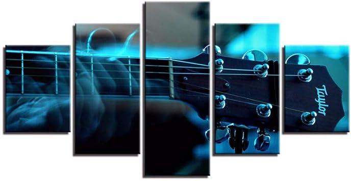 Wiwhy 5 Unidades Bajo Guitarra Cuello Afinador Instrumento Musical ...
