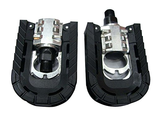 Mayco Bell Foldable Bicycle Pedals Platform Commuter Bike 9/16 Aluminum Alloy Cr-mo MTB (Folding Pedal)