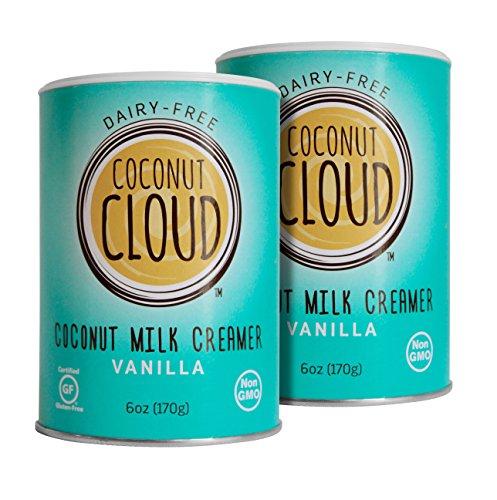 Coconut Cloud Non Dairy Coffee Creamer, Powdered Coconut Milk Creamer, VEGAN, Vanilla, 6oz - Bailey Maxwell