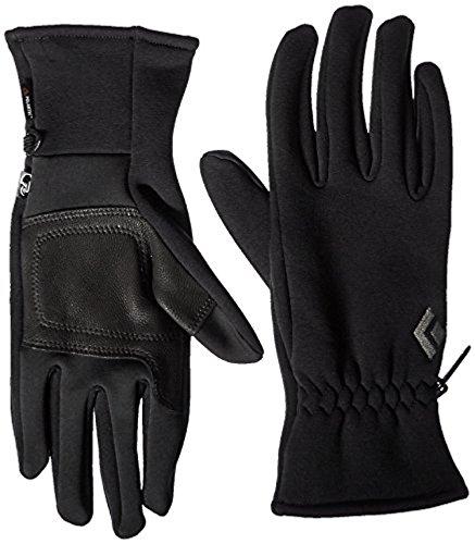 Black Diamond Heavyweight Screentap Gloves Black XS & Cooling Towel Bundle
