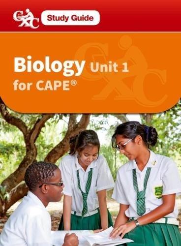 Biology for CAPE Unit 2 CXCA Caribbean Examinations Council Study Guide