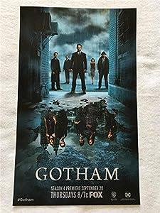 "GOTHAM 11""x17"" Original Promo TV Poster SDCC 2017 FOX Batman"