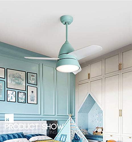 YBCD - Lámpara LED para ventilador de techo, diseño de hélice (96 ...