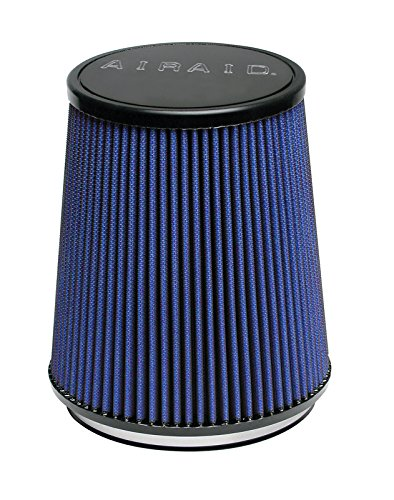 121 mm 152 mm Top 127 mm Base; 5 in Flange ID; 6.5 in Airaid 703-474 Universal Clamp-On Air Filter: Round Tapered; 4.75 in Height; 6 in 165 mm