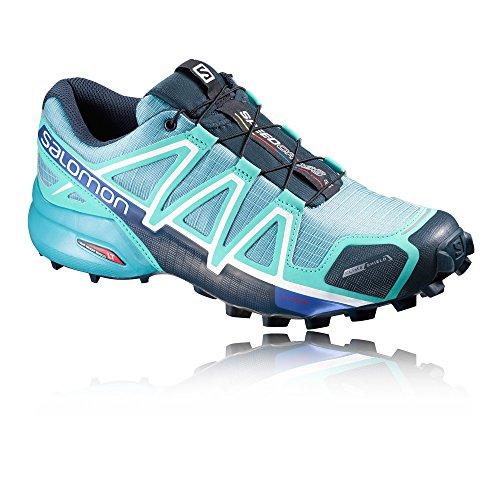 Salomon Speedcross 4 CS Womens Trail Running Shoes - AW16 - 10 - Blue