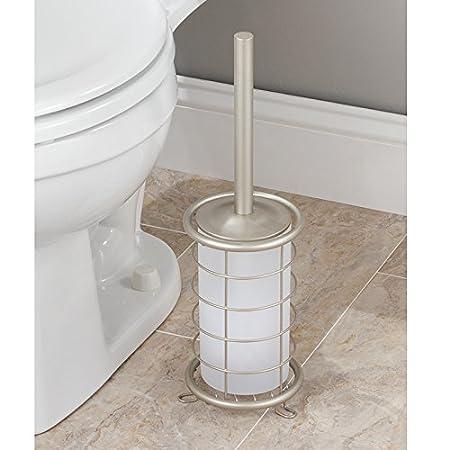 Office InterDesign Forma Newspaper and Magazine Rack for Bathroom Matte Black Den