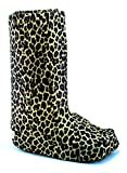 My Recovers Walking Boot Cover for Fracture Boot, Fashion Cover in Leopard, Size Large, Tall Boot, Made in USA, Orthopedic Products Accessories