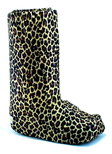 My Recovers Walking Boot Cover for Fracture Boot, Fashion Cover in Leopard, Size Small, Tall Boot, Made in USA, Orthopedic Products Accessories by My Recovers