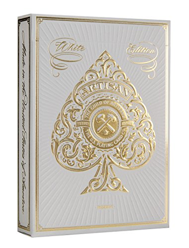 Nice Deck - Artisan Playing Cards (White)