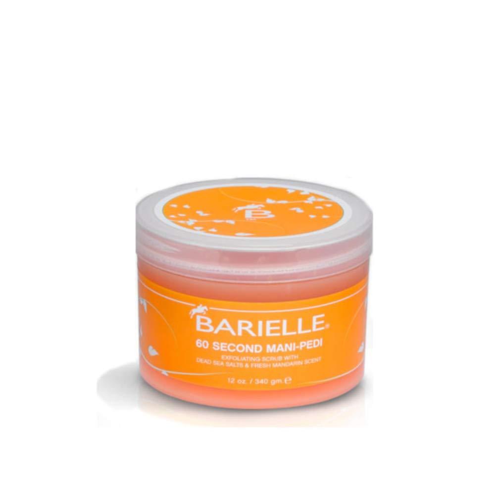 Barielle 60 Second Mani-Pedi Dead Sea Salt Scrub 12 Ounce by Barielle