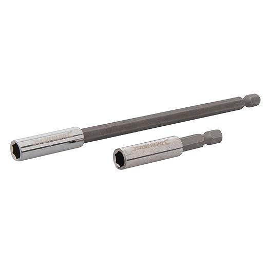 23 opinioni per Silverline 436745 Cacciavite portainserti, 2 pezzi, Set di 60 e 150 mm