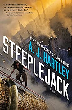 Steeplejack by A.J. Hartley YA SF book reviews