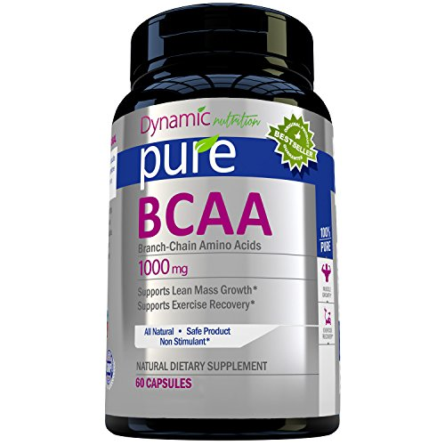 Pure-Branch-Chain-Amino-Acids-Natural-Dietary-Supplement-1000mg-60-Tablets